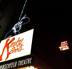 Kinky Boots at the Al Hirschfeld Theatre