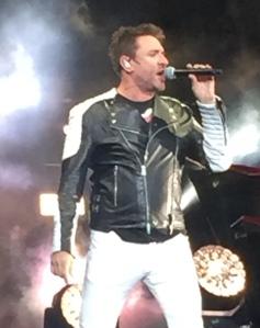 Duran Duran's Simon Le Bon.