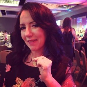 Gabrielle Luthy, Golden Heart winner and fellow cat enthusiast